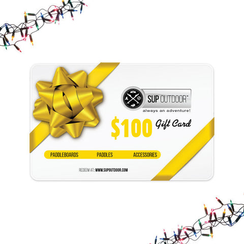 SUP Outdoor USD $100 Gift Card