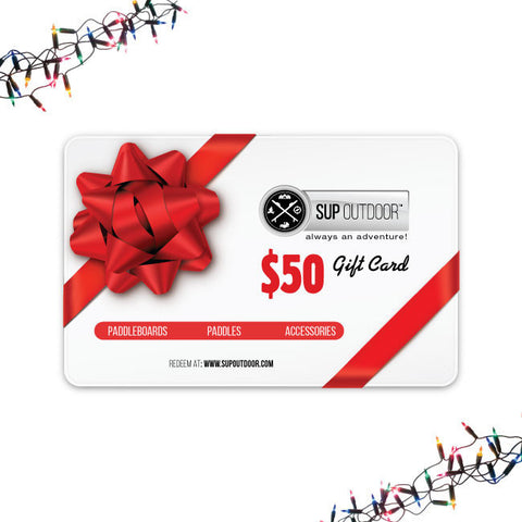 SUP Outdoor USD $50 Gift Card