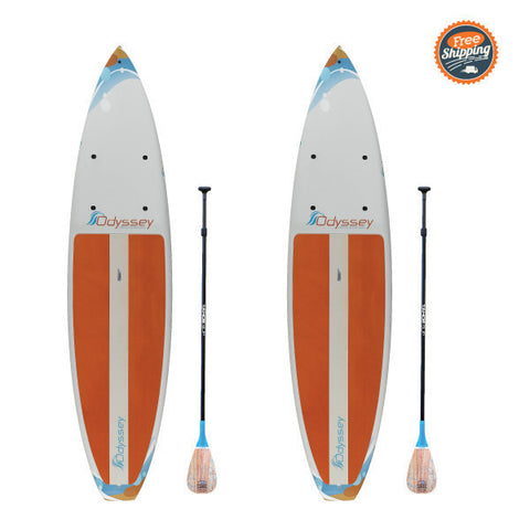Odyssey SUP Tour Package: Two Boards, Paddles, and Leashes for $1,398 - use code 2OD22 - Regularly -  - Stand Up Paddle Board - SUP Outdoor - 1