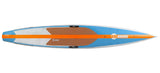 "KM Hawaii Compressor HP / On Sale from $1585 / Use Code CARBON55 / Regularly - 12'6"" x 24"" / BLUE/ORANGE - Stand Up Paddle Board - SUP Outdoor - 7"