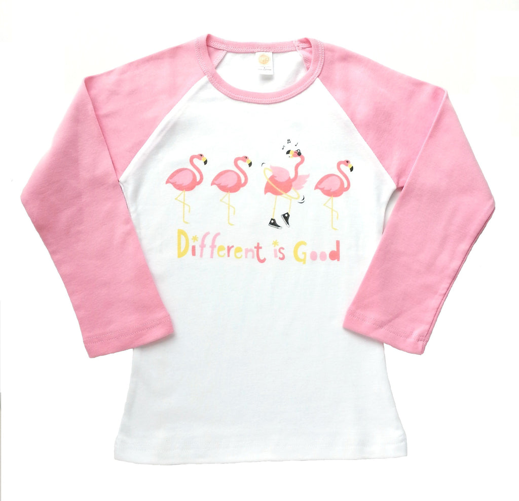 "Girls Shirt ""Different Is Good"" by Sunrise Girl"