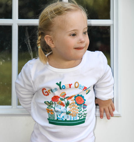 "Girls Shirt ""Grow Your Own Way"" by Sunrise Girl"