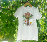 "Girls Short Sleeve Shirt ""Treehouse"" by Sunrise Girl"