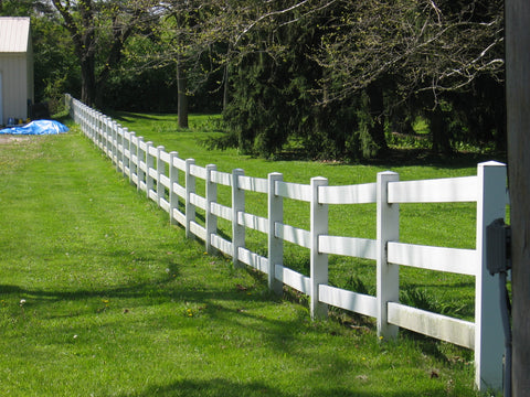 Ranch & farm fence: fencing options that look good horse fencing