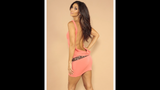Leiluna Collection Sleeveless backless dress