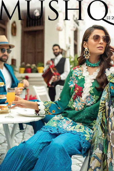 Mushq Luxury Lawn Collection 2019