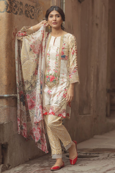 Firdous Spring/Summer Lawn Collection '18