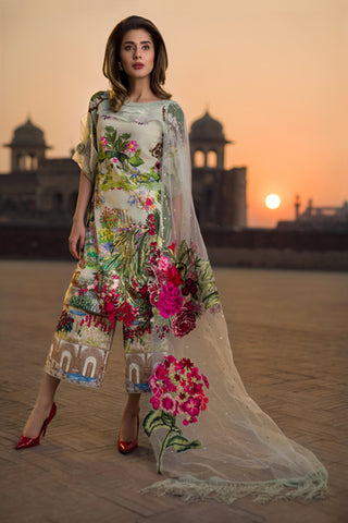 d5ae737844 Asifa & Nabeel Spring/Summer Tourist Lawn 2018 – Pakistani Lawn Suits –  YourLibaas