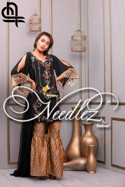 Needlez By Shalimar - Stay Bloom Cotton Net Collection