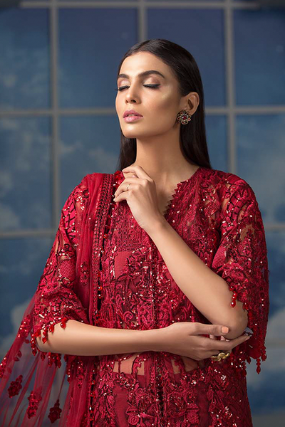Maryam Hussain Luxury Embroidered Collection 2019