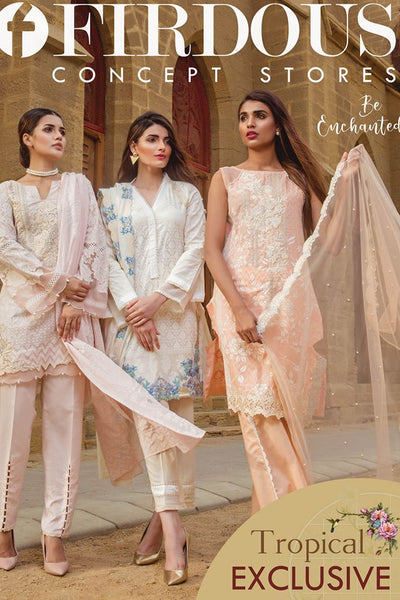 Firdous Tropical Exclusive Collection 2018