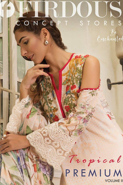 Firdous Tropical Premium Collection 2018 Vol II