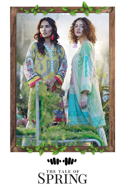Khaadi The Tale of Spring Lawn Collection 2019