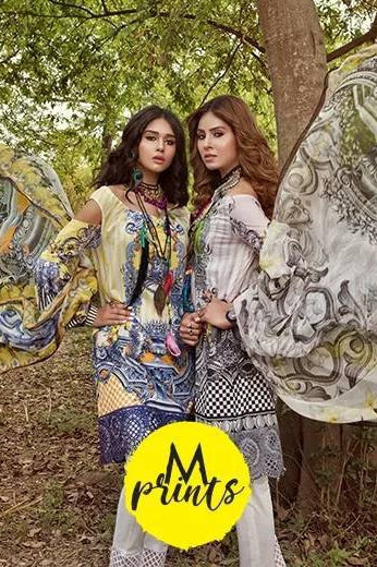 MARIA.B. MPrints Lawn Collection 2018