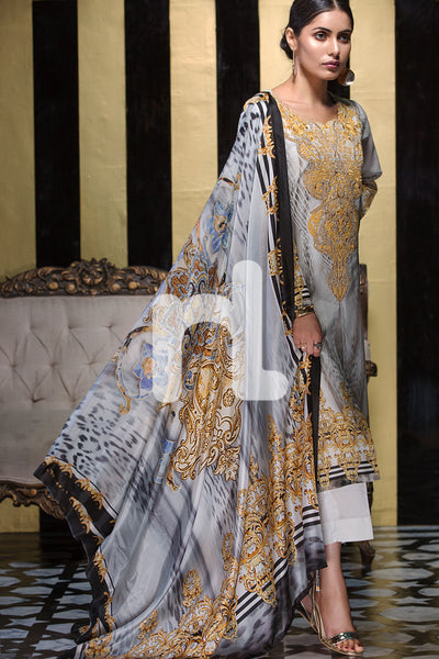 Nishat Linen Silk Chiffon Collection