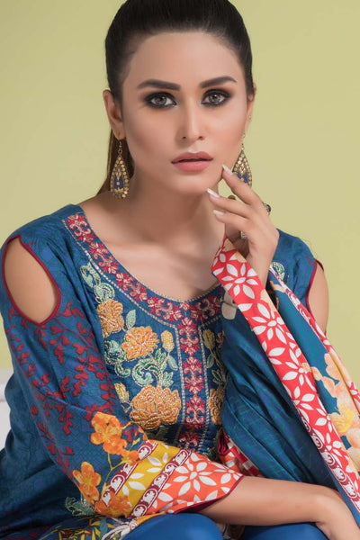 Sahil Designer Embroidered Lawn Collection Vol 6
