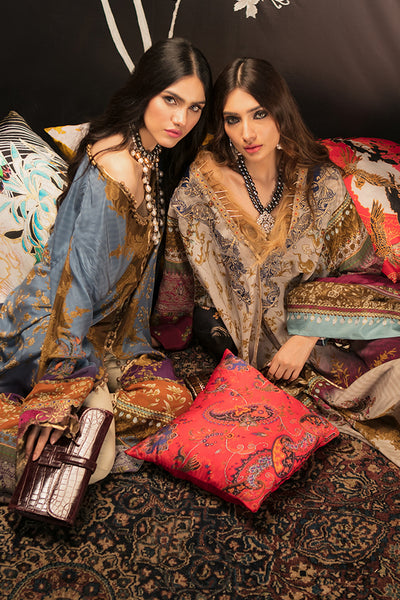 Sana Safinaz Silk Collection 2018