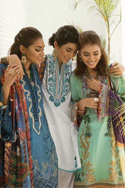 Zaha Fayroz Festive Lawn Collection 2019