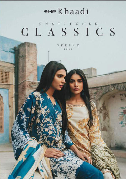 Khaadi Classics Spring/Summer Lawn Collection 2018