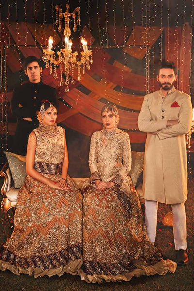 EmbRoyal Dewan-e-Khas Luxury Chiffon Wedding Collection