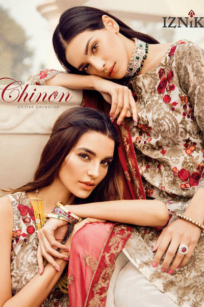 Iznik Chinon Chiffon Collection 2019