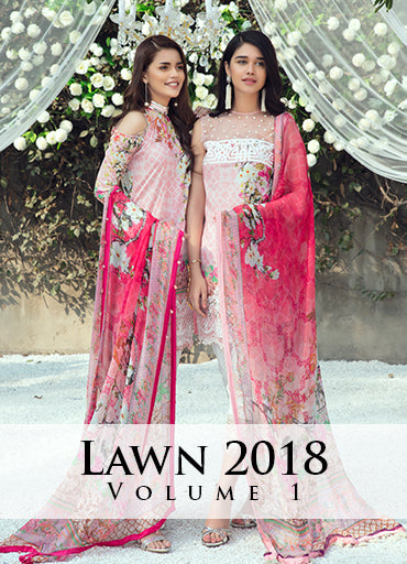 Gulaal Lawn Collection Vol-1 2018