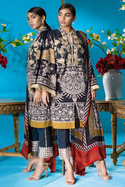 Sana Safinaz Muzlin Winter Collection 2018