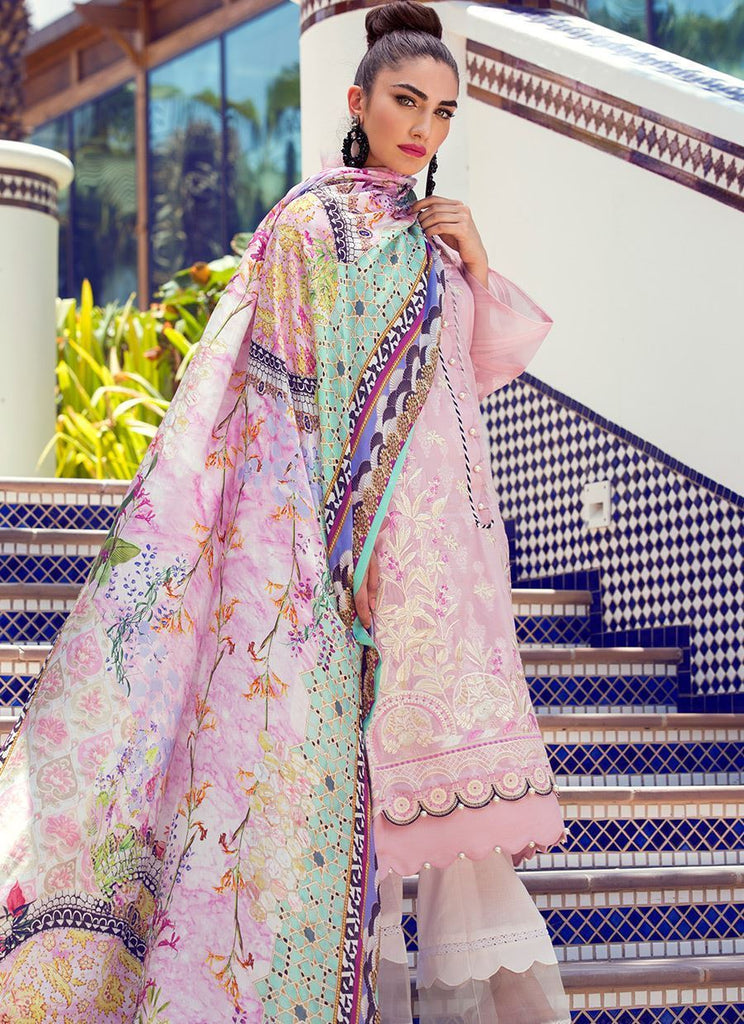 Farah Talib Aziz Luxe Eid Lawn Collection 2018 – Suri - FTA-10