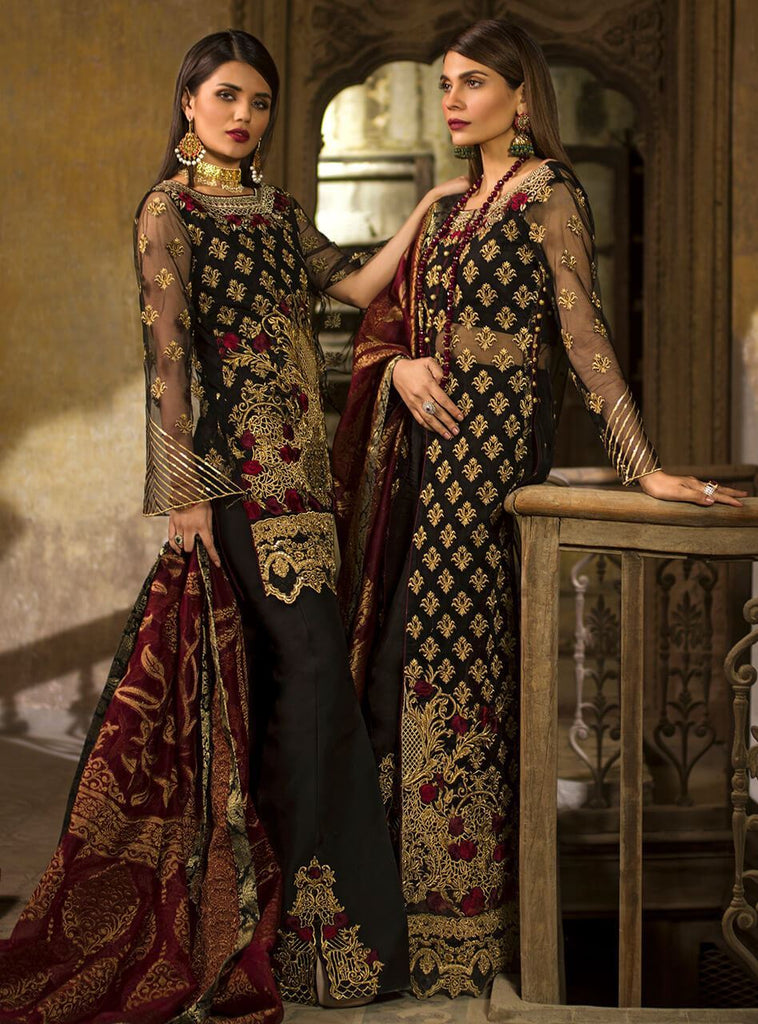 Zainab Chottani Wedding Festive Collection 2019 – Jet gold dust