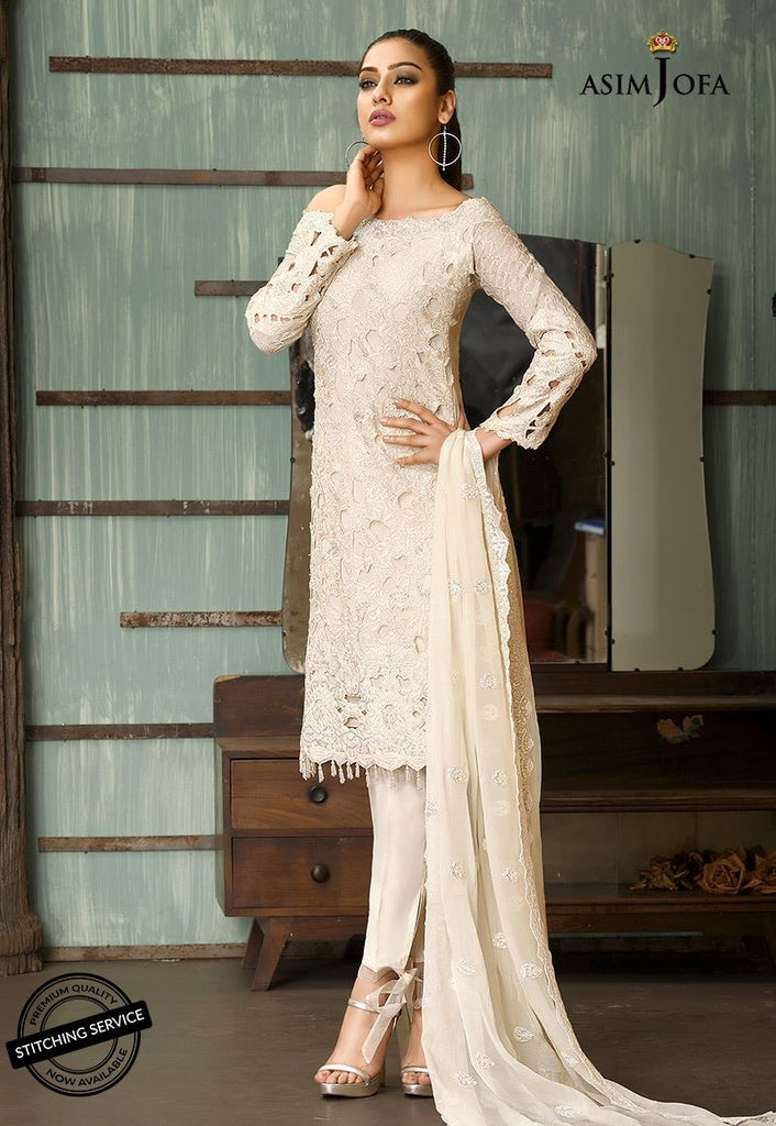 Asim Jofa Signature Embroidered Collection 2018 – AJ-2B