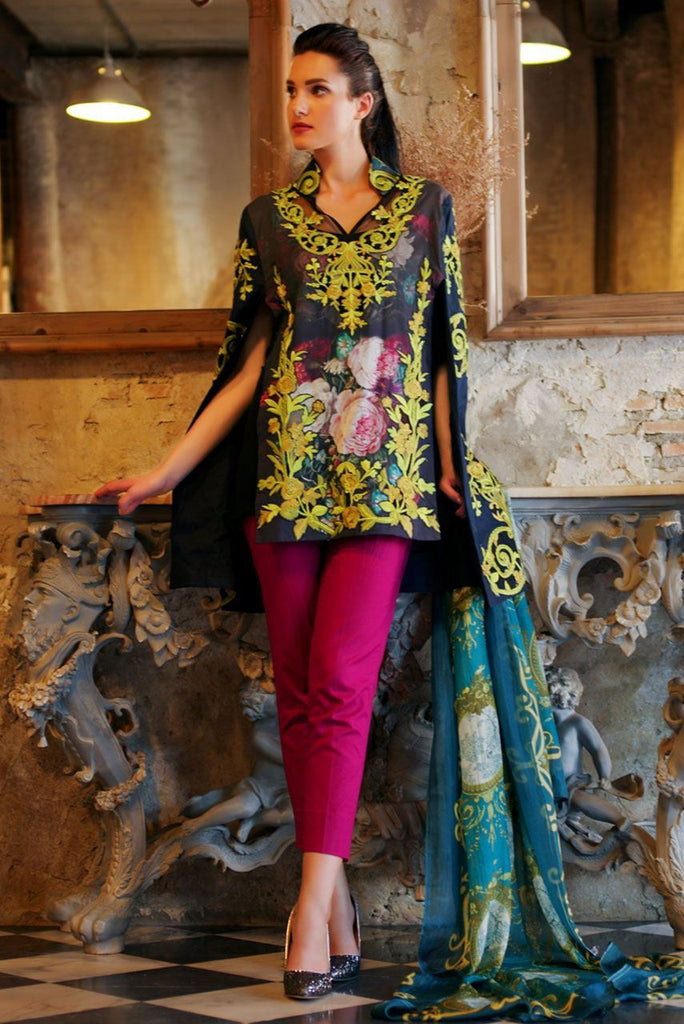 Tabassum Mughal Lawn Collection 2016 – 11B - YourLibaas  - 1