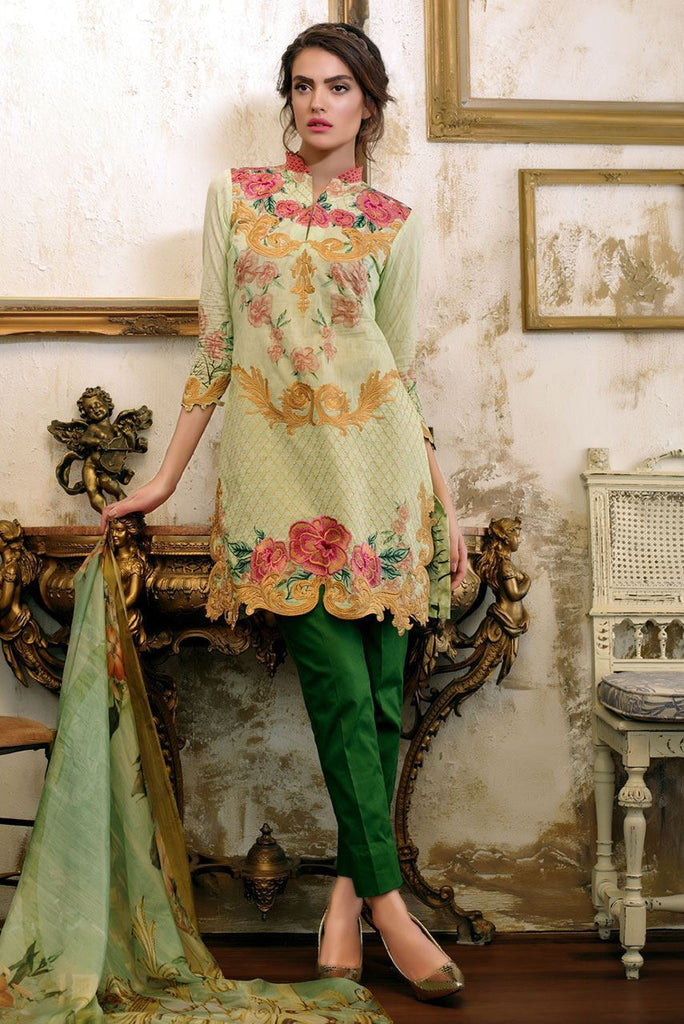 Tabassum Mughal Lawn Collection 2016 – 09B - YourLibaas  - 1
