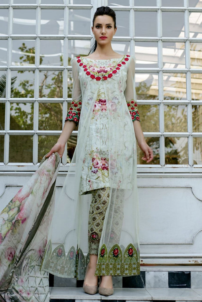 Tabassum Mughal Lawn Collection 2016 – 05B - YourLibaas  - 1