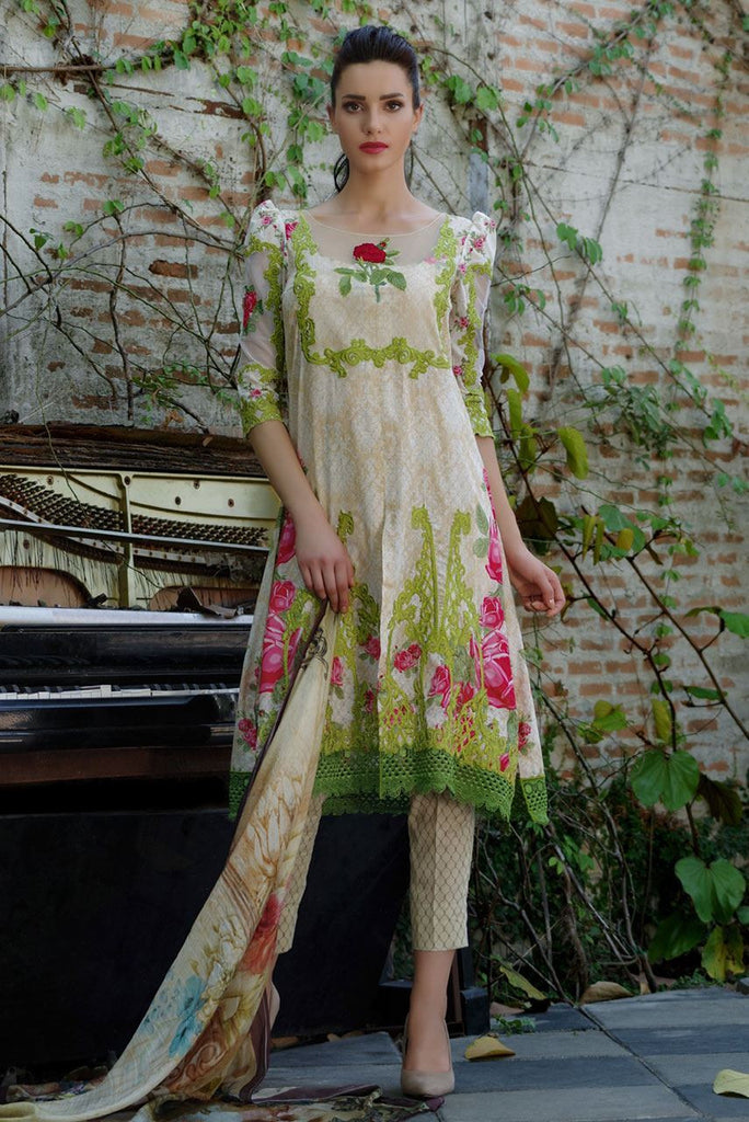 Tabassum Mughal Lawn Collection 2016 – 01B - YourLibaas  - 1