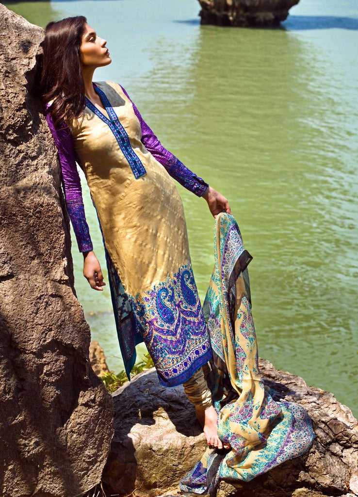5B - Sana Safinaz Spring/Summer Lawn Collection 2015 - YourLibaas