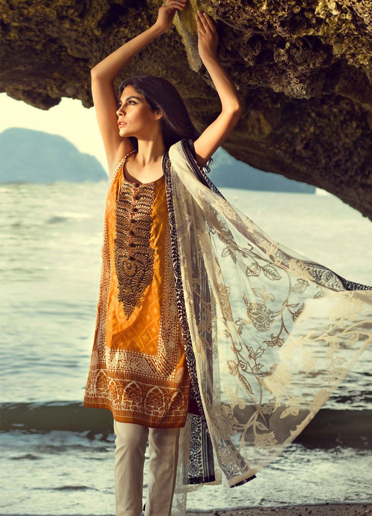 7B - Sana Safinaz Spring/Summer Lawn Collection 2015 - YourLibaas