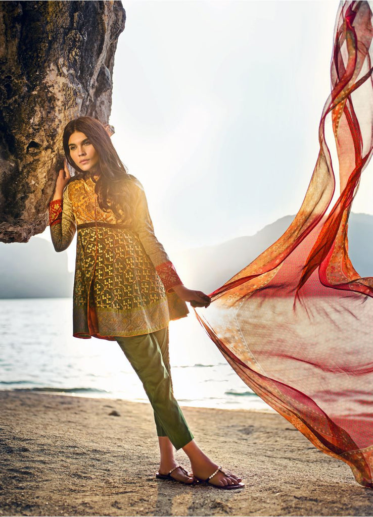 9B - Sana Safinaz Spring/Summer Lawn Collection 2015 - YourLibaas