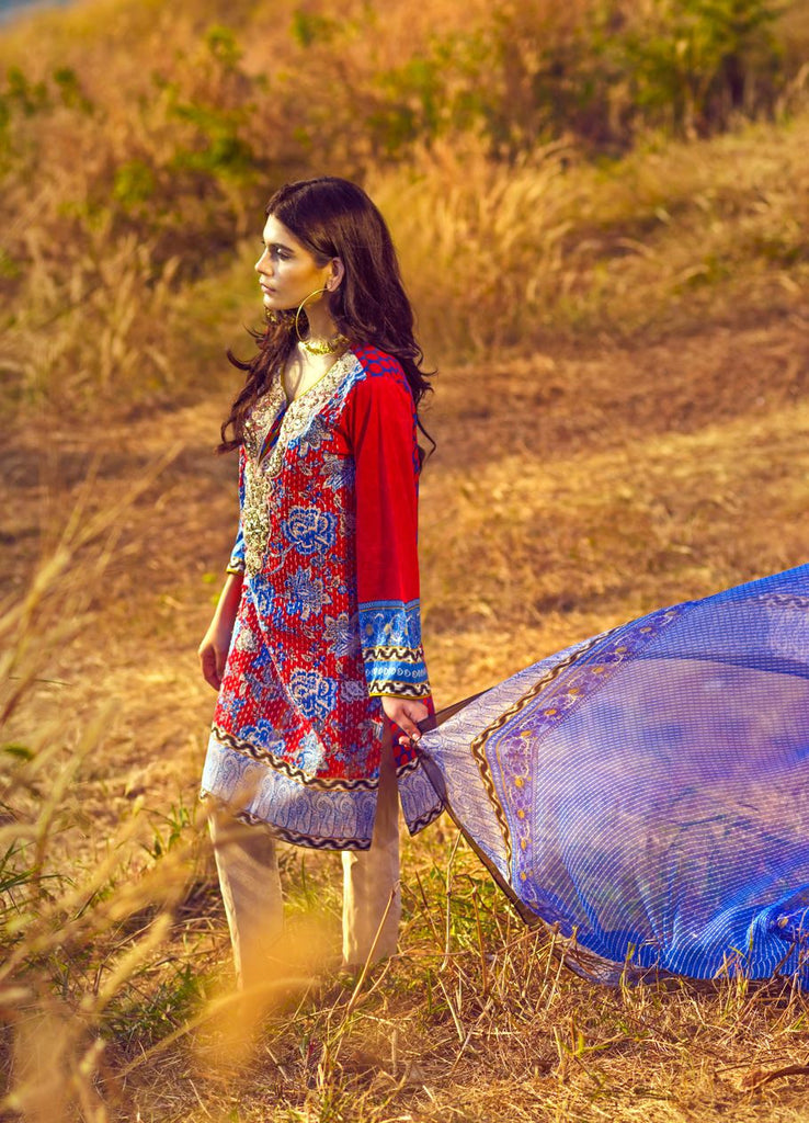 12B - Sana Safinaz Spring/Summer Lawn Collection 2015 - YourLibaas