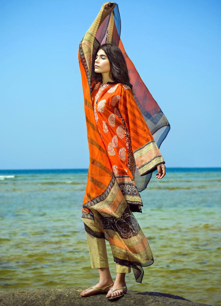14B - Sana Safinaz Spring/Summer Lawn Collection 2015 - YourLibaas