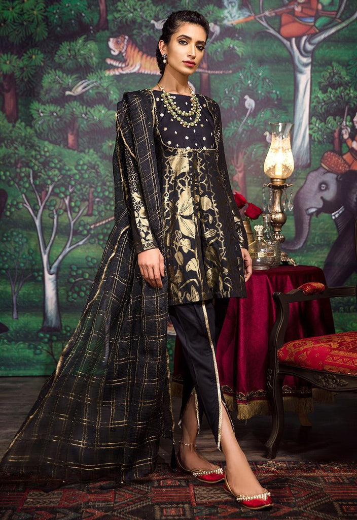 Cross Stitch Eid Jacquard Collection 2018 – Raven