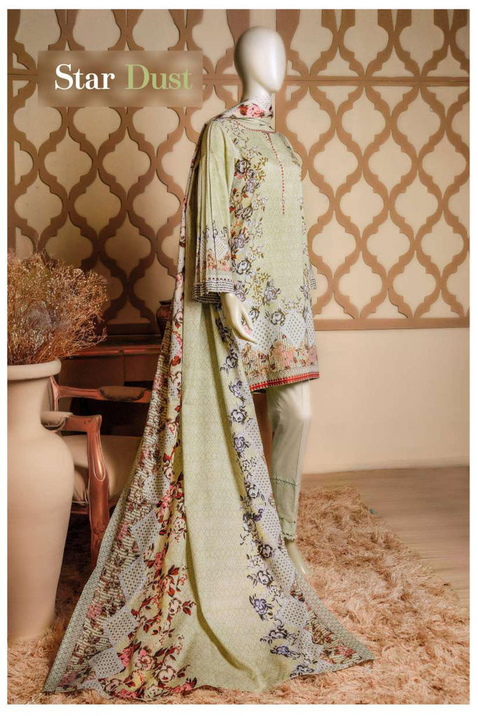 Aansa by Owais Gujrati Summer Collection 2019 – 3B - Star Dust