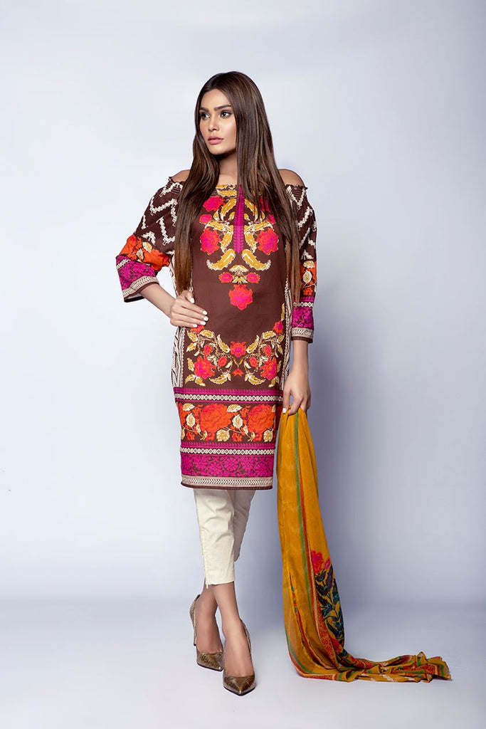 Sana Safinaz Muzlin Lawn Collection – M1-05A - YourLibaas  - 1