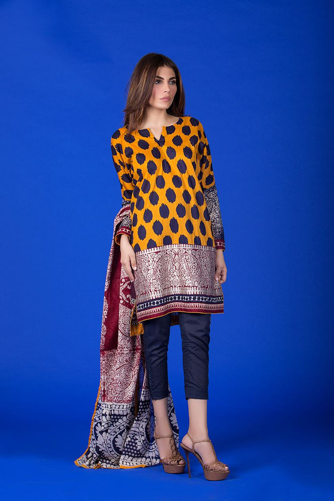 Sana Safinaz Muzlin Lawn Collection – M1-08A - YourLibaas  - 1