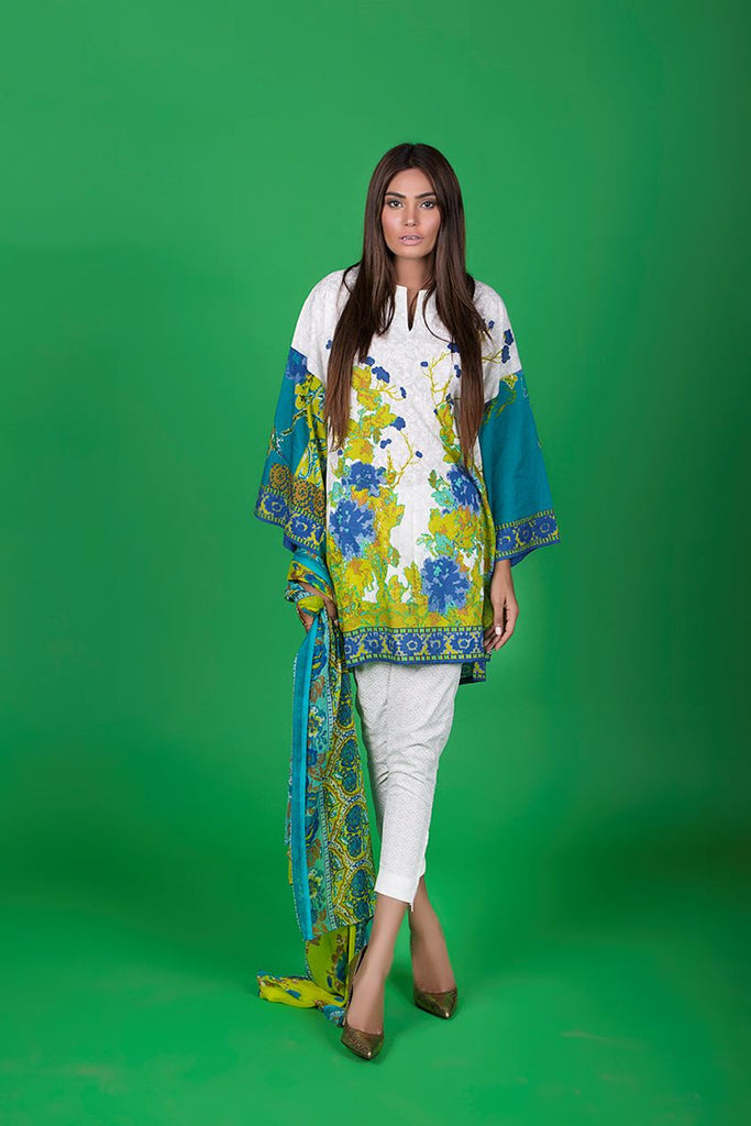 Sana Safinaz Muzlin Lawn Collection – M1-09B - YourLibaas  - 1