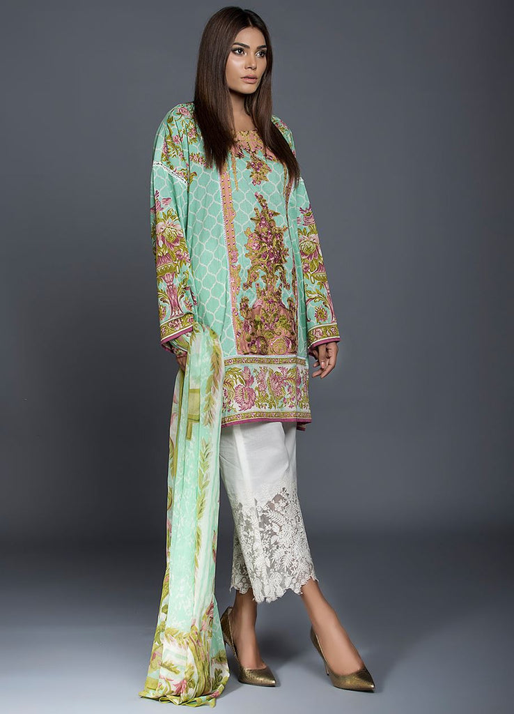 Sana Safinaz Muzlin Lawn Collection – M2-01A - YourLibaas  - 1