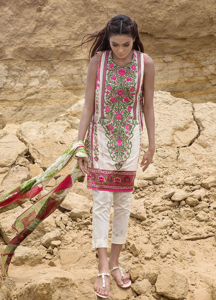 Sana Safinaz Muzlin Lawn Collection – M2-06A - YourLibaas  - 1