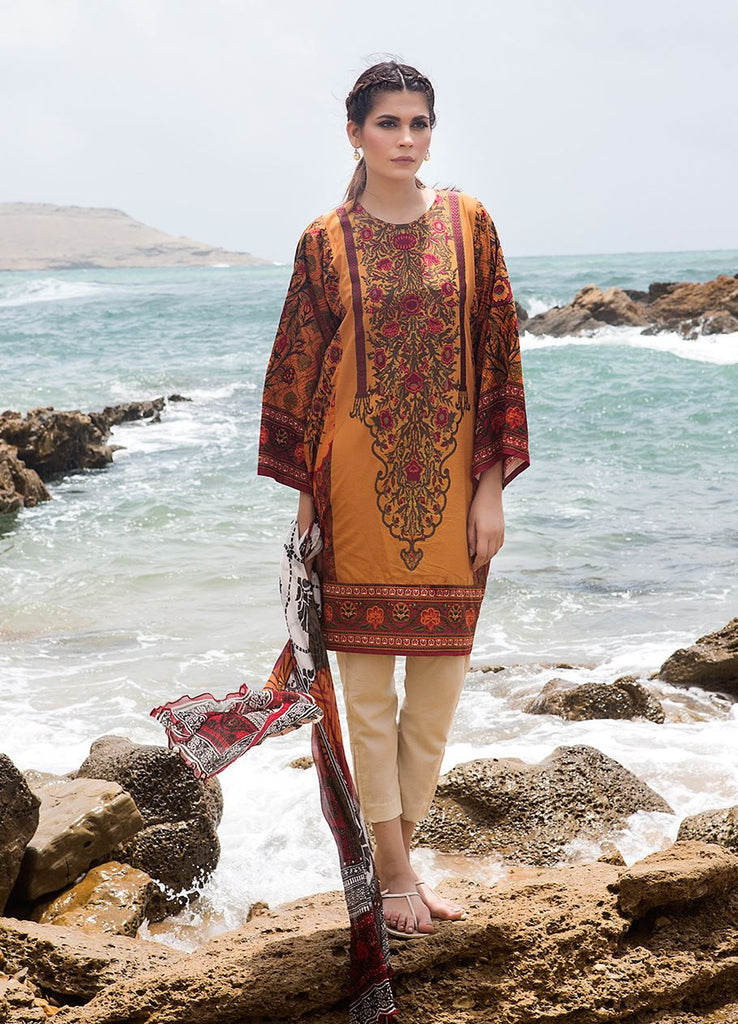 Sana Safinaz Muzlin Lawn Collection – M2-06B - YourLibaas  - 1