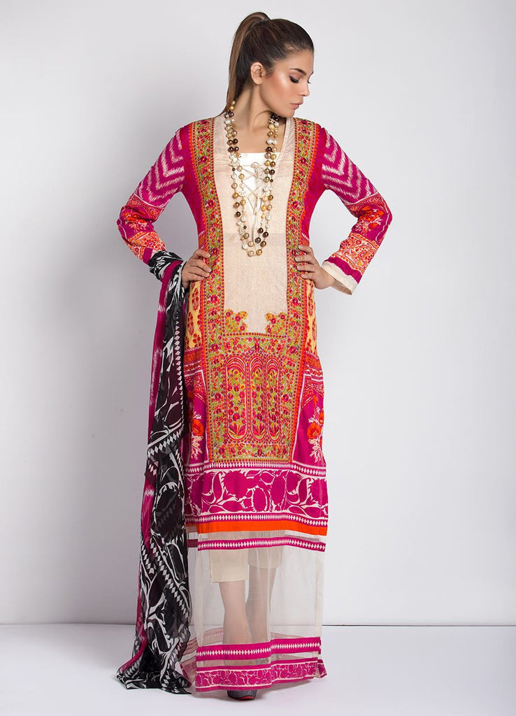 Sana Safinaz Muzlin Lawn Collection – M2-03A - YourLibaas  - 1
