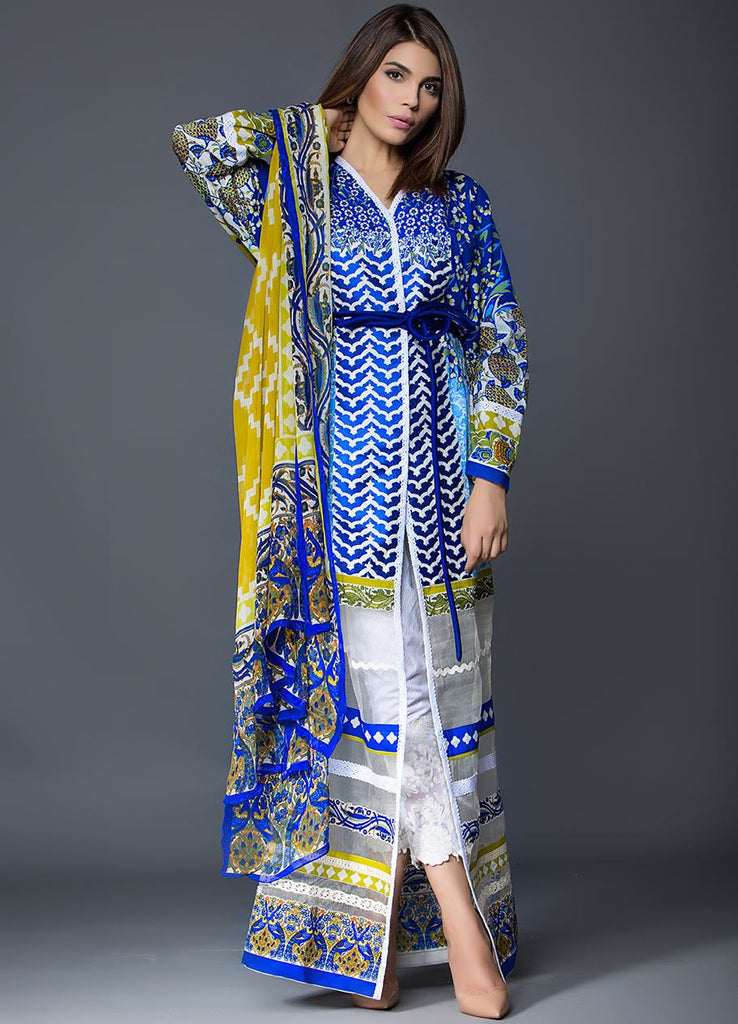 Sana Safinaz Muzlin Lawn Collection – M2-04B - YourLibaas  - 1