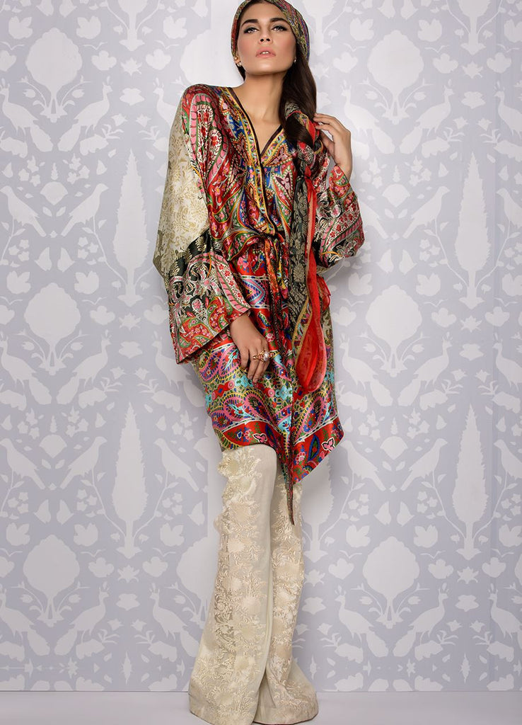 Sana Safinaz Silk Collection 2016 – 03A - YourLibaas  - 1